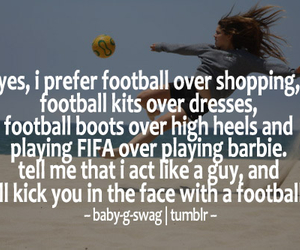 football, quote, and soccer image