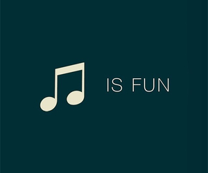 music, fun, and quotes image