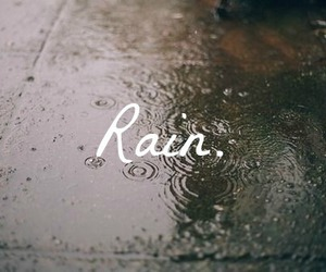 rain, vintage, and cold image