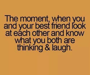 best friends and laugh image