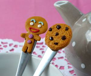 clay, cookie, and fimo image