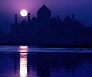 india and night image
