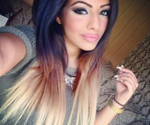 hair, ombre, and perfect image