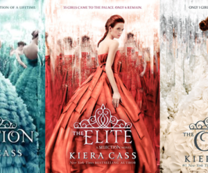 kiera cass and the selection trilogy image