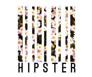 hipster, overlay, and flowers image