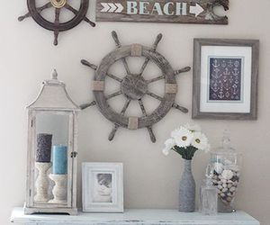 decor, home, and ocean image