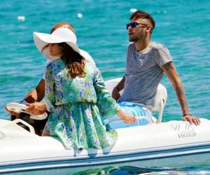 boat, marquezine, and Bruna image
