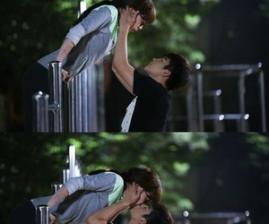 seo in guk, king of high school, and kiss image