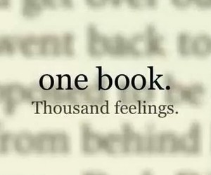 book, feelings, and one image