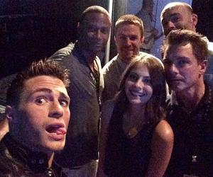 colton haynes, arrow, and stephen amell image