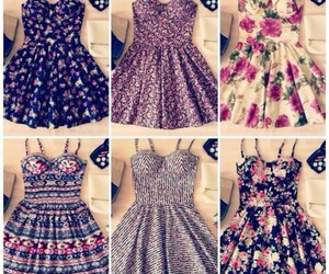 beautiful, summer, and dresses image