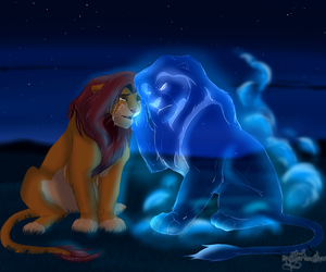disney, king, and lion king image