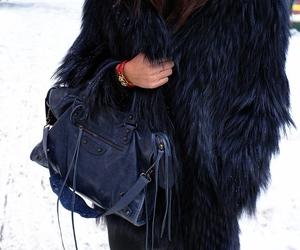 fashion, Balenciaga, and fur image