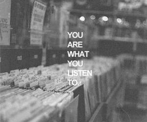 music, quotes, and listen image