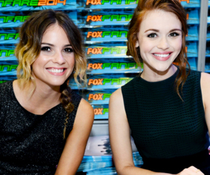 teen wolf, holland roden, and shelley hennig image