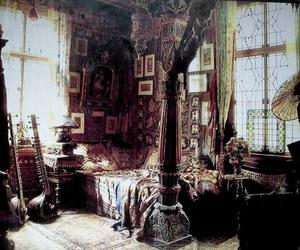 bedroom, bohemian, and room image