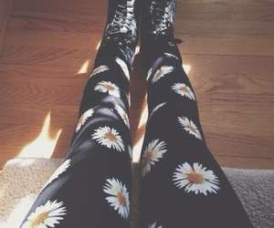 flowers, fashion, and daisy image