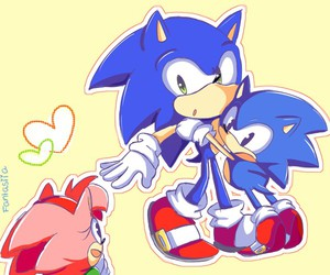 sonic, Sonic the hedgehog, and amy rose image