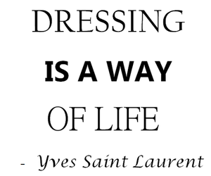 quote, fashion, and life image
