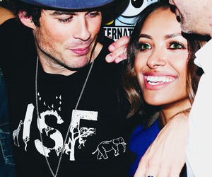 ian somerhalder and kat graham image