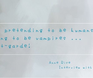 interview, quote, and vampire image
