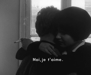 love, je t'aime, and couple image