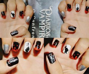 corvo, thevampirediaries, and nail art image