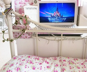 disney, bedroom, and bed image