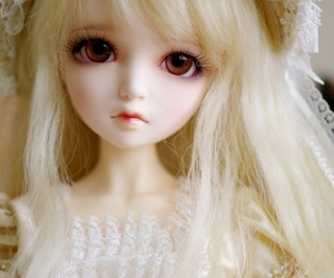 doll, bjd, and pretty image