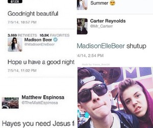 madison beer, matthew espinosa, and hayes grier image