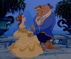 disney, love, and beast image