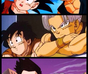 bff, trunks, and dragon ball z image