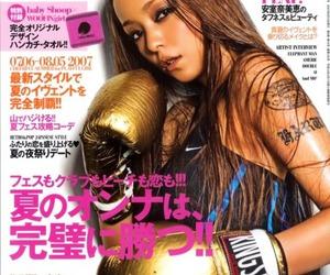 magazine, namie amuro, and woofin girl image