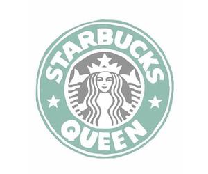starbucks, Queen, and overlay image
