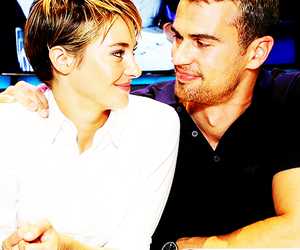 sheo, theo james, and divergent image