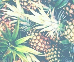background, hipster, and pineapple image