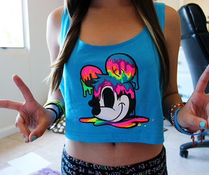 tumblr, mickey, and blue image