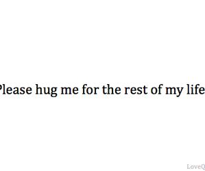 hug, love, and life image
