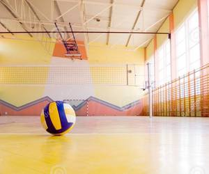 ball, game, and volleyball image