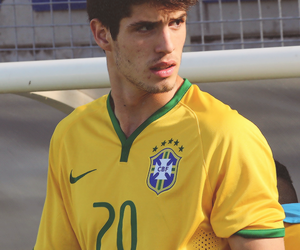 lucas piazon, brazil, and soccer image