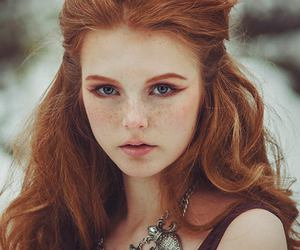 freckles, ginger, and ruiva image