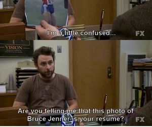 funny, it's always sunny, and charlie day image