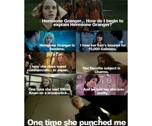 HAHAHA, harry potter, and hermione granger image