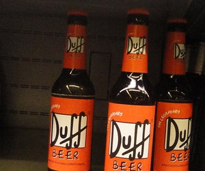 beer, Duff, and homer image