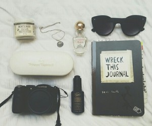 wreck this journal and camera image