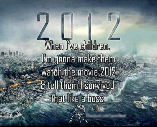 survived, 2012, and like a boss image