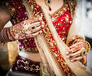 henna, red, and rings image