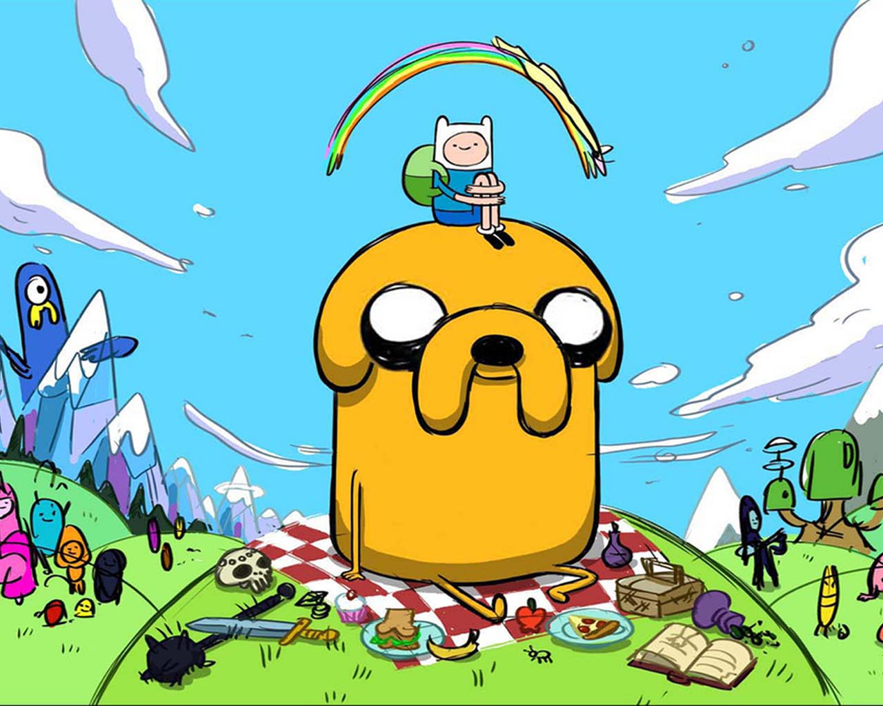 Hora de aventura con finn y jake on we heart it altavistaventures Gallery