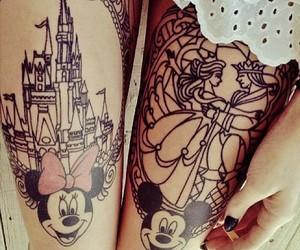 tattoo, disney, and mickey image