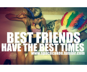 best friends, crazy, and free image